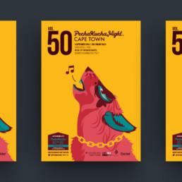 Pecha Kucha Poster Design and Illustration