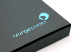 Orange Potato Branding and Marketing design collateral