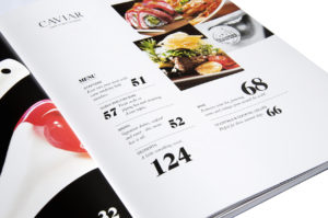 Caviar Magazine Layout and Design