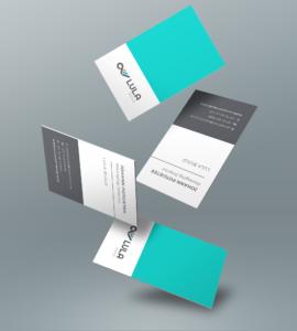 Convirt Lula Build Business Card CI Design