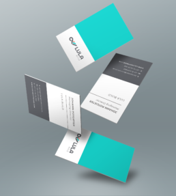 Convirt Lula Build Business Card CI Design