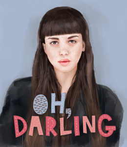 Oh Darling Illustration