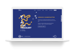 Type Treasury Website Layout and Design