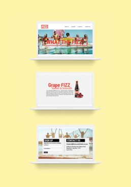 Fizz Website Design