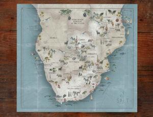 salt map illustration