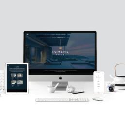 Romans Villa Responsive Website design