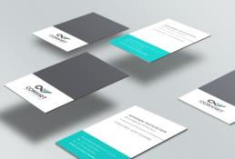 Convirt Business Card Design