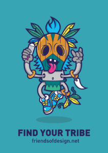 Tribal Character Illustration