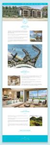 Pangia Website UI Design and Layout