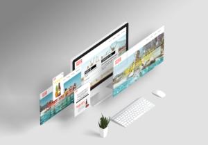Fizz Website UI Design and Layout
