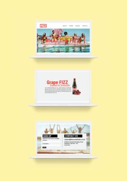 Fizz Website Design
